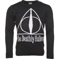 The Deathly Hallows Knitted Harry Potter Jumper - Harry Potter Gifts