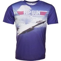 Top Gun Scene Sublimation T-Shirt - Gun Gifts