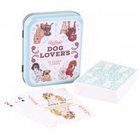 Vintage Dog Lover's Playing Cards in Tin - Playing Cards Gifts