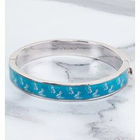 White Gold Plated Frozen Warm Hugs Bangle from Disney by Couture Kingdom - Warm Gifts