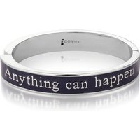 White Gold Plated Mary Poppins Anything Can Happen Bangle from Disney by Couture Kingdom - Anything Gifts