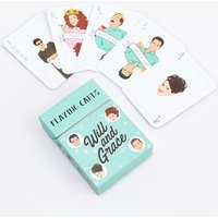 Will & Grace Playing Cards - Playing Cards Gifts