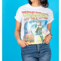 Women's Back to the Future Movie Poster Loose Fit T-Shirt - Clothes Gifts