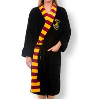 Women's Black Harry Potter Hogwarts Dressing Gown - Dressing Gown Gifts