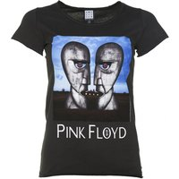 Women's Charcoal Pink Floyd The Division Bell T-Shirt from Amplified - Pink Floyd Gifts
