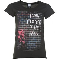 Women's Charcoal Pink Floyd The Wall T-Shirt from Amplified - Pink Floyd Gifts