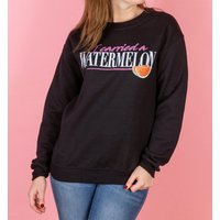 Women's Dirty Dancing I Carried A Watermelon Black Sweater - Sweater Gifts