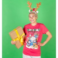 Women's Disney Holiday Magic Red T-Shirt - Holiday Gifts