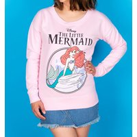 Women's Disney The Little Mermaid Baby Pink Sweater - Sweater Gifts