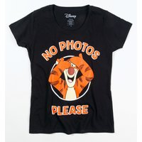 Women's Disney Winnie The Pooh Tigger No Photos Please T-Shirt