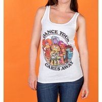 Women's Fraggle Rock Dance Your Cares Away Fitted Vest - Dance Gifts