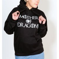 Women's Game Of Thrones Inspired Mother Of Dragons Heather Grey And Dark Grey Baseball Shirt - Baseball Gifts
