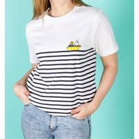Women's Miffy Embroidered Boat Breton T-Shirt - Boat Gifts