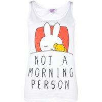 Women's Miffy Not a Morning Person Vest - Underwear Gifts