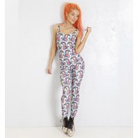 Women's My Little Pony All Over Print Strappy Jumpsuit by Alice Vandy - My Little Pony Gifts