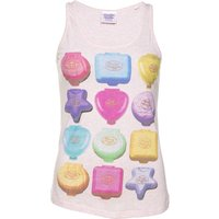 Women's Polly Pocket Playsets Heather Pink Vest - Polly Pocket Gifts