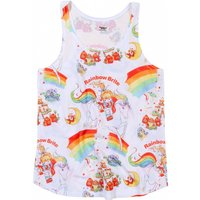 Women's Rainbow Brite Patterned Racerback Vest - Rainbow Gifts