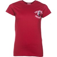 Women's Red Coca-Cola University Varsity T-Shirt - University Gifts