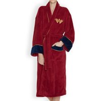 Women's Red Wonder Woman DC Comics Batman V Superman Dressing Gown - Dressing Gown Gifts