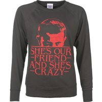 Women's She's Our Friend Eleven Stranger Things Inspired Sweater - Friend Gifts