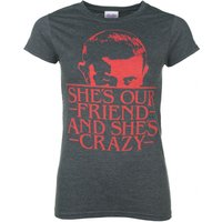 Women's She's Our Friend Eleven Stranger Things Inspired T-Shirt - Friend Gifts