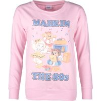 Women's The Get Along Gang Made In The 80s Baby Pink Sweater - Sweater Gifts