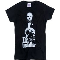 Women's The Godfather Don Corleone Black T-Shirt - The Godfather Gifts