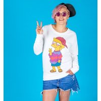 Women's The Simpsons Cool Lisa Fitted Sweater - Sweater Gifts