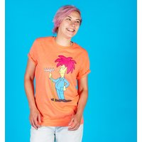 Women's The Simpsons Sideshow Bob Rolled Sleeve Boyfriend T-Shirt - The Simpsons Gifts