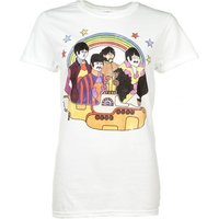 Women's Yellow Submarine The Beatles Rolled Sleeve Boyfriend T-Shirt - The Beatles Gifts
