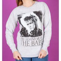 Women's You Remind Me Of The Babe Bowie Labyrinth Sweater - Sweater Gifts