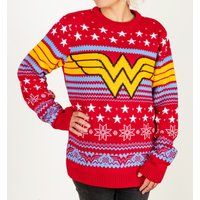 Wonder Woman Knitted Jumper - Christmas Jumper Gifts