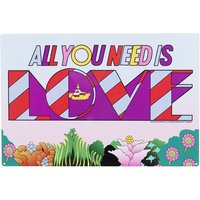 Yellow Submarine All You Need Is Love Metal Sign - Yellow Gifts
