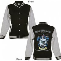 Women's Black Harry Potter Ravenclaw Team Quidditch Varsity Jacket - Harry Potter Gifts