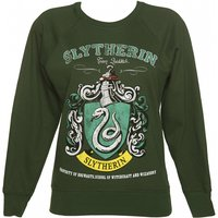 Women's Harry Potter Slytherin Team Quidditch Sweater - Sweater Gifts