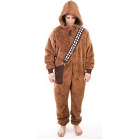 Men's Brown Chewbacca Star Wars Onesie - Onesie Gifts