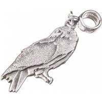 Silver Plated Harry Potter Hedwig Owl Slider Charm - Harry Potter Gifts