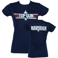 Women's Navy Top Gun Maverick T-Shirt - Clothes Gifts
