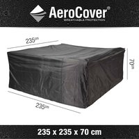 AeroCover loungesethoes 235x235xh70 - antraciet