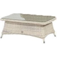 4 Seasons Outdoor Brighton salontafel 110 x 70 x 45 cm +glas - Provance