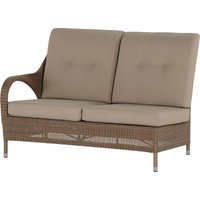 Lounge- Element 2 zits Rechts Sussex Polyloom Taupe 4 Seasons Outdoor