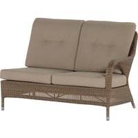 Lounge- Element 2 zits Links Sussex Polyloom Taupe 4 Seasons Outdoor