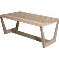 4 Seasons Outdoor Cancun salontafel teak 120 x 70 x 45 cm. - Teak
