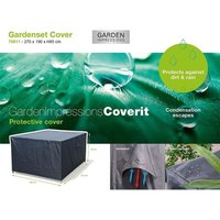 Garden Impressions Coverit tuinsethoes 270x190xH85 cm - antraciet