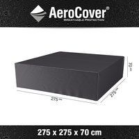 AeroCover loungesethoes 275x275xh70 - antraciet