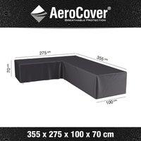 AeroCover loungesethoes 330x275x100xH70 L antraciet