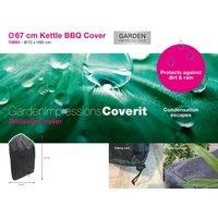 Garden Impressions Coverit Bol BBQ hoes