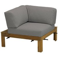 4 Seasons Outdoor Mistral hoekelement teak