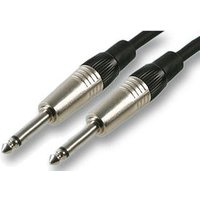 0.5m Guitar Lead 1/4 Inch Jack to Jack Patch Cable