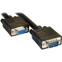 Monitor Extension Cable 1m VGA / SVGA Black Male - Female sale image
